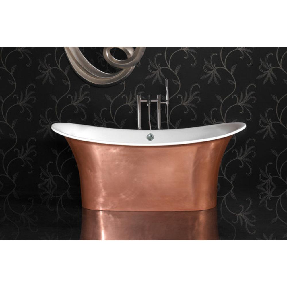 Ashton & Bentley A&B vrijstaand bad Grand Aegean 1800 Metallic CG - gloss copper