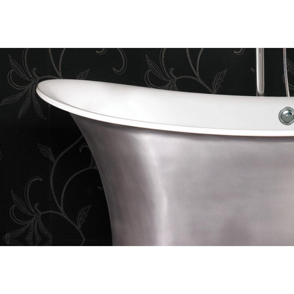 Ashton & Bentley A&B freestanding bath Grand Aegean 1800 Metallic PG - gloss platinum