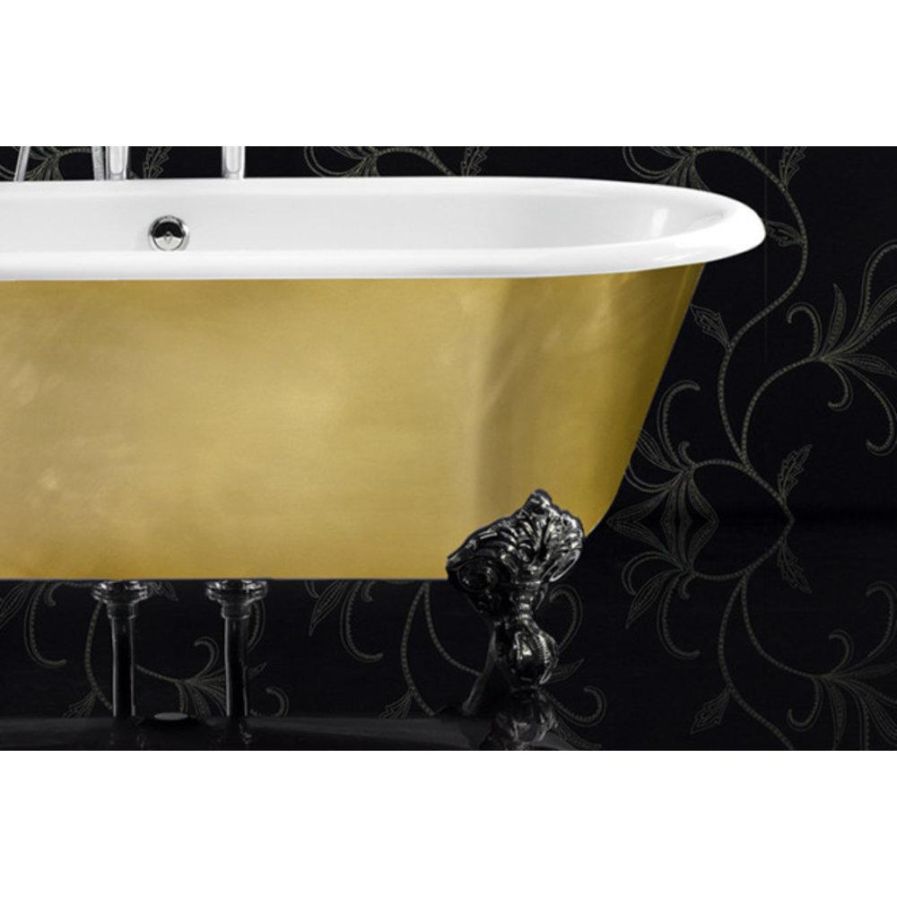 Ashton & Bentley A&B freestanding bath with legs Corinthian Metallic BG - gloss brass