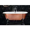 Ashton & Bentley A&B vrijstaand bad op pootjes Corinthian Metallic CG - gloss copper