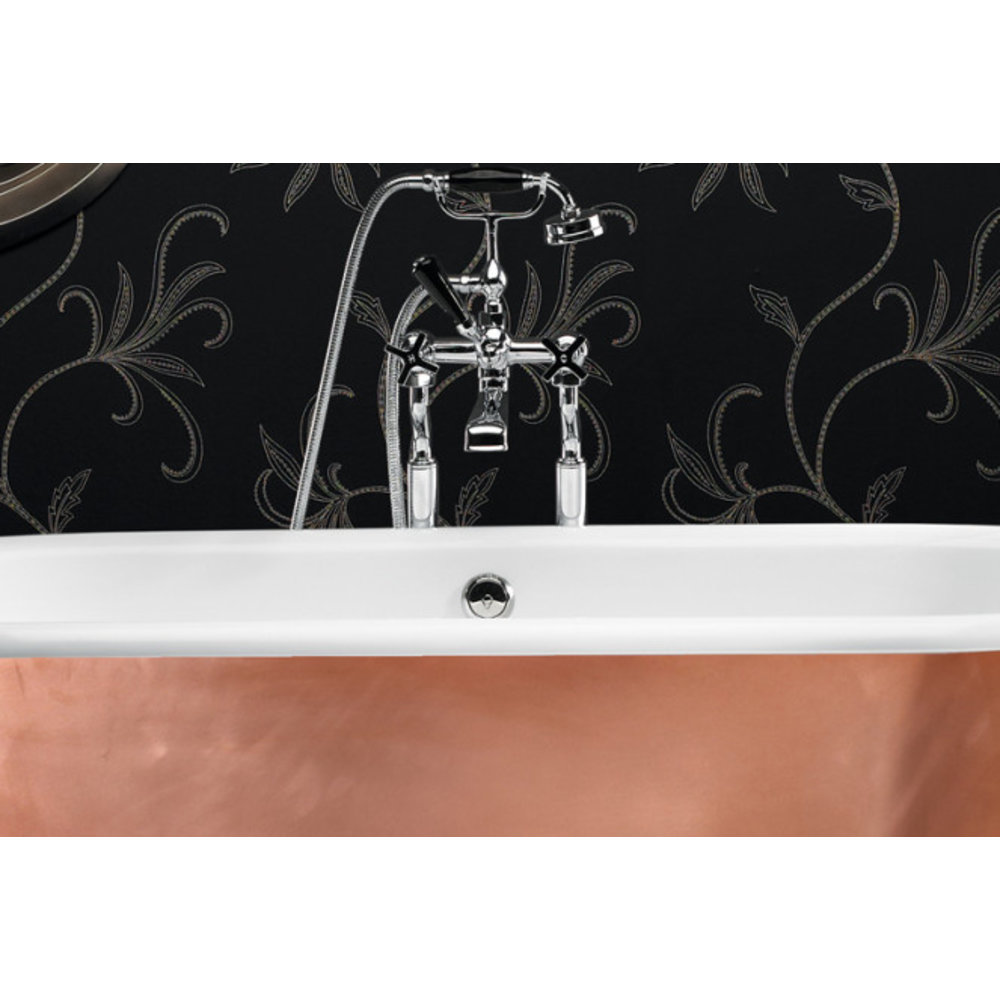 Ashton & Bentley A&B freestanding bath with legs Corinthian Metallic CG - gloss copper