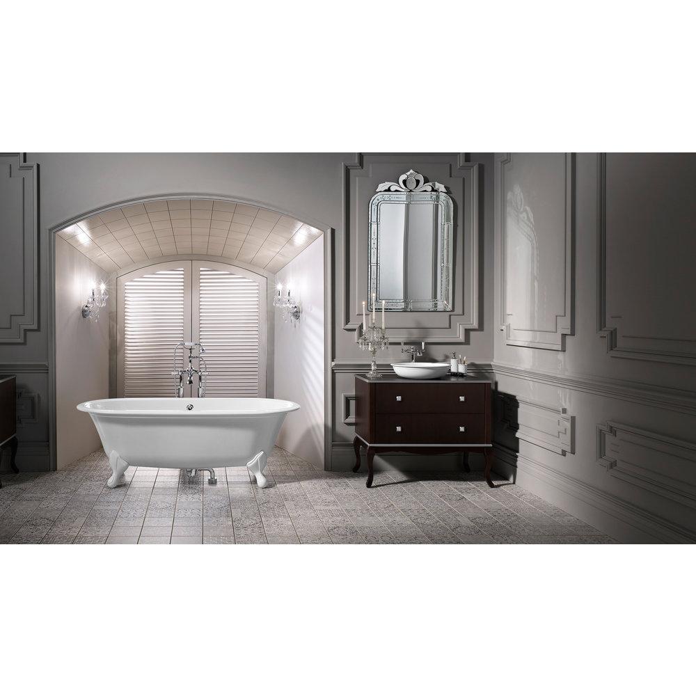 Victoria + Albert V+A freestanding bath with feet Radford