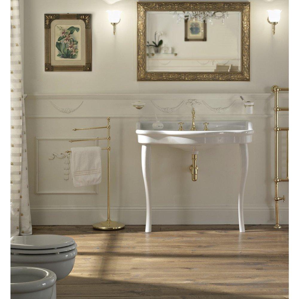 Sbordoni SB Palladio 100cm console basin with ceramic legs