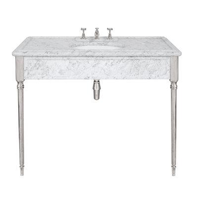 Edwardian carrara marble console LB6334WH