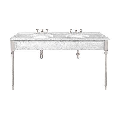 Edwardian carrara marble console LB6434WH