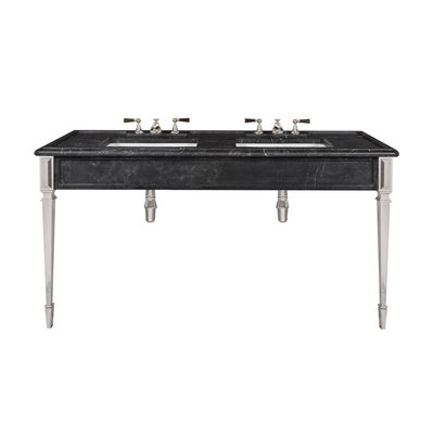 Mackintosh black marble consoleLB6443BK