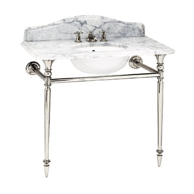 Hepburn Single Carrara marmeren console
