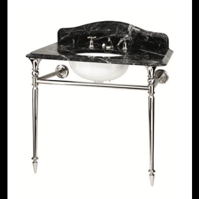 Hepburn Single Grigio Carnico marmeren console