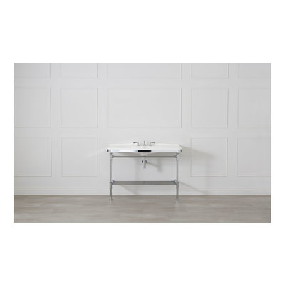 Metallo 114 washstand with legs MET-114