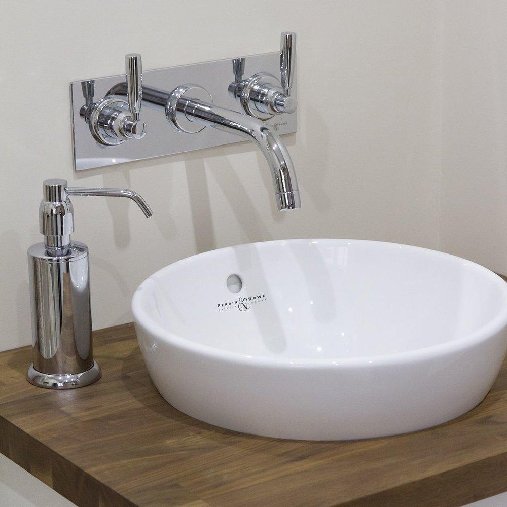 Perrin & Rowe Vanity P&R Contemporary opbouw wastafel Vanity Collection 2512