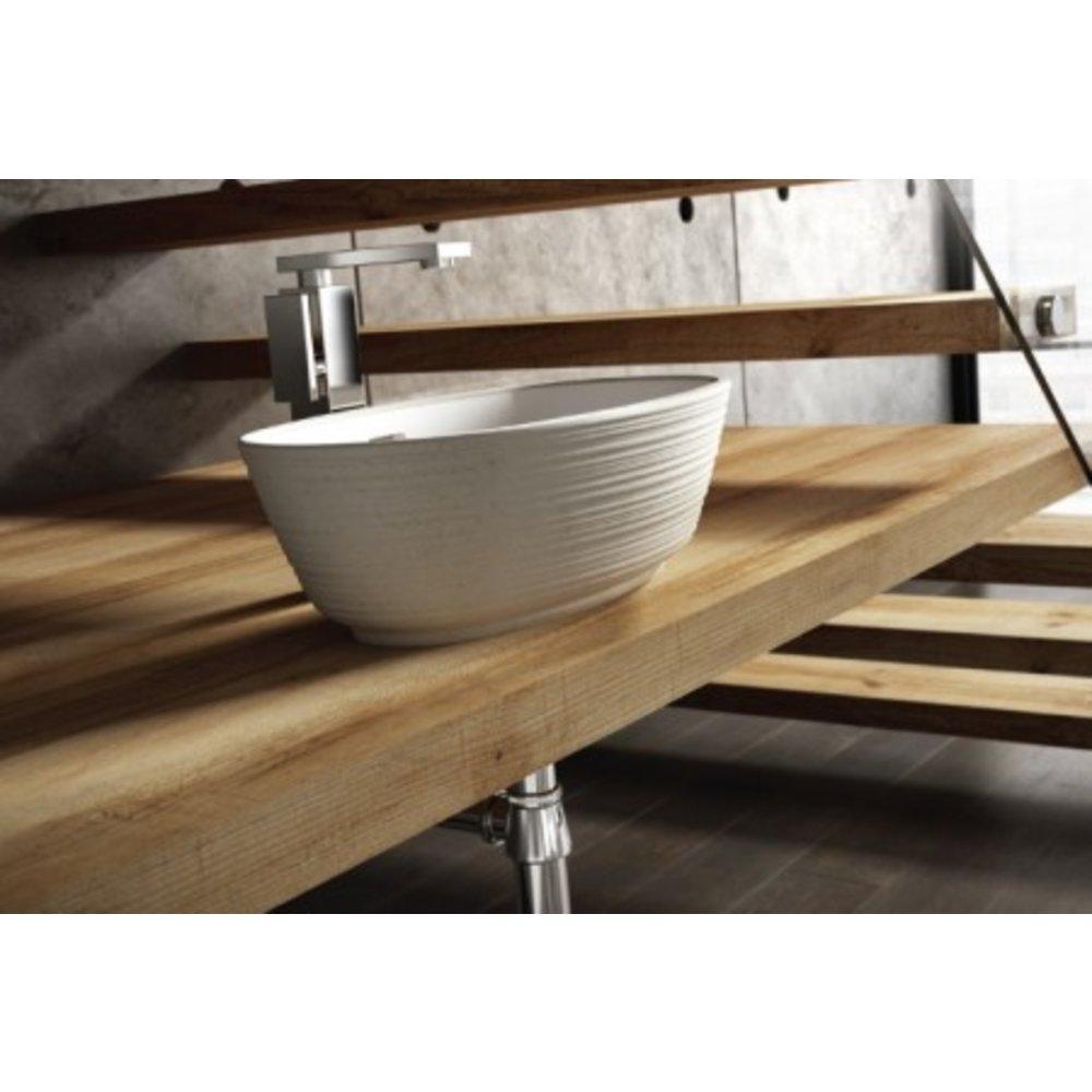 Ashton & Bentley A&B Contemporary countertop basin Correro Organic Textured ORG49TX
