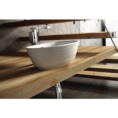 Countertop basin Correro Organic Textured