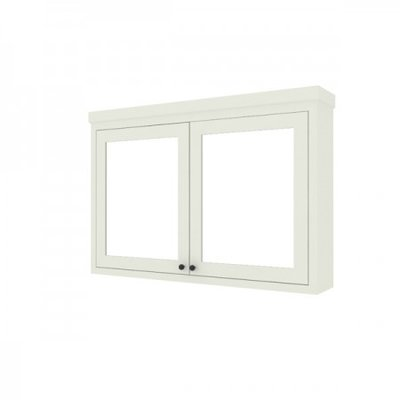 Shaker mirror cabinet 140