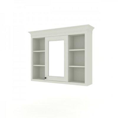 Victorian spiegelkast open 120