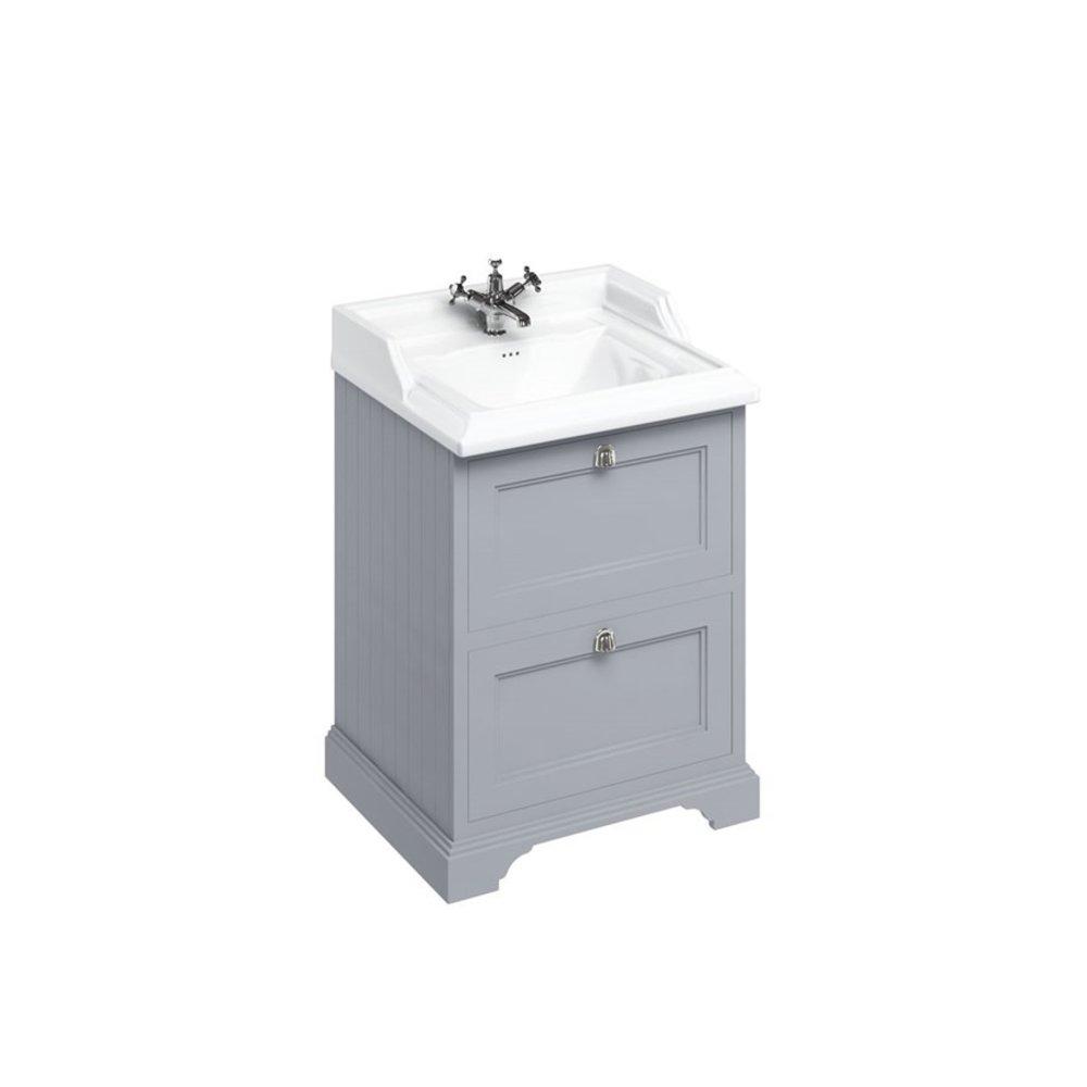 BB Edwardian Classic 65cm basin & unit with drawers B15-FF9