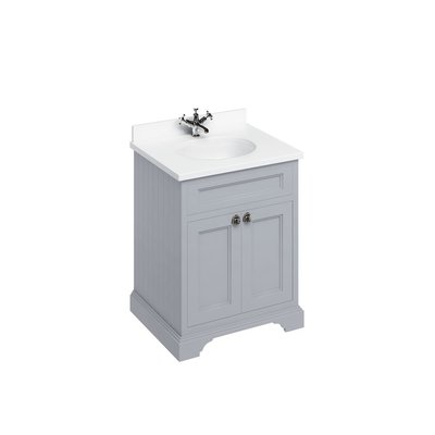 Classical basin unit Minerva white FF8-BW66