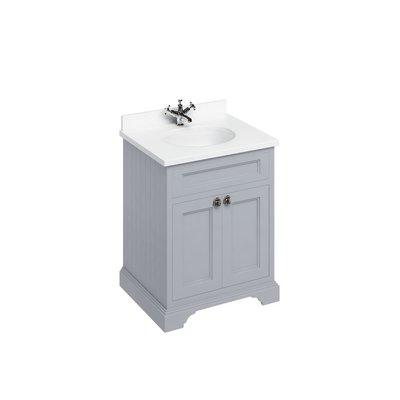 Klassischer Waschschrank Minerva weiss FF8-BW66