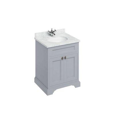 Klassischer Waschschrank Minerva Carrara FF8-BC66