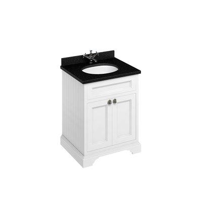 Classical basin unit Minerva Black Granite FF8-BB66