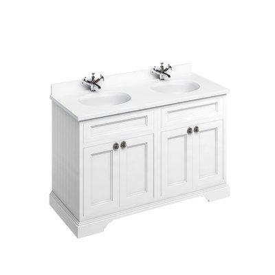 Klassischer Waschschrank Minerva weiss FC9-BW12