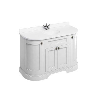 Classical basin unit Minerva white FC1-BW13