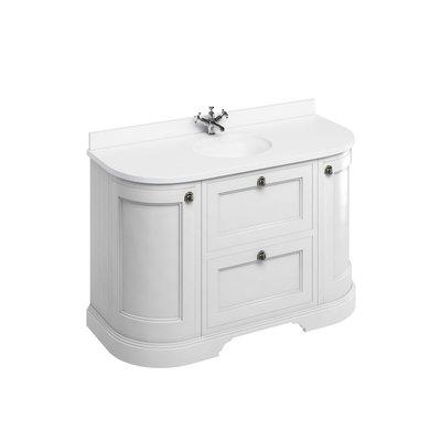Klassischer Waschschrank Minerva weiss FC4-BW13
