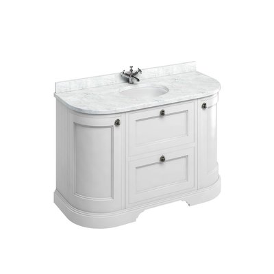Klassischer Waschschrank Minerva Carrara FC4-BC13