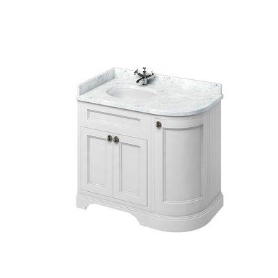 Classical basin unit Minerva Carrara FC2-BC98L