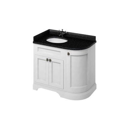 Klassischer Waschschrank Minerva Granite FC2-BB98L