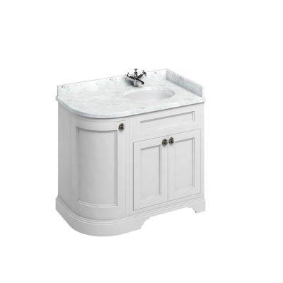 Classical basin unit Minerva Carrara FC3-BC98R