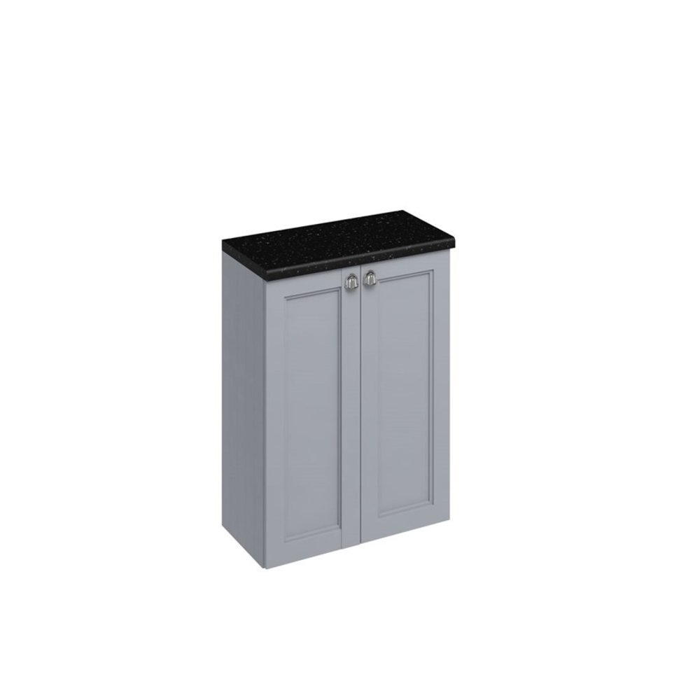 BB Edwardian 60cm base unit with soft close doors and glass shelf F60