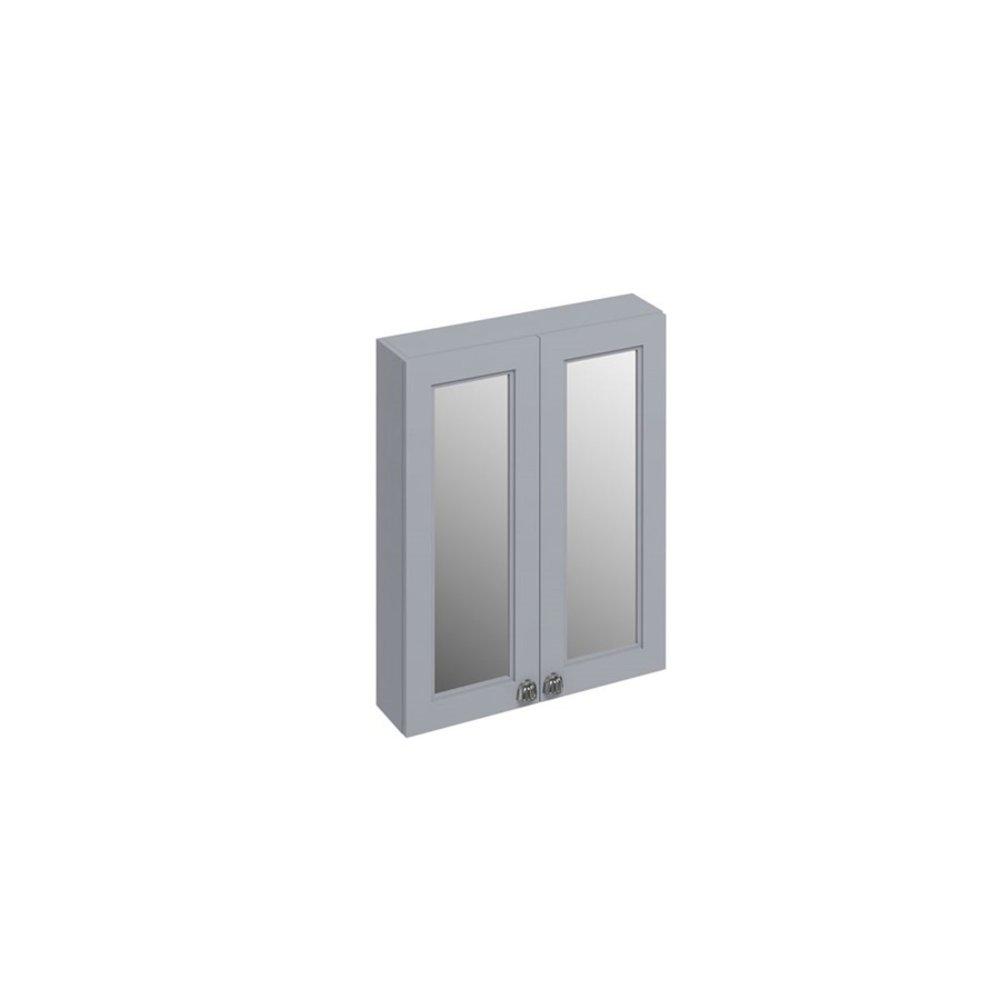 BB Edwardian 60cm spiegelkast met soft-close deuren en planchet F6M