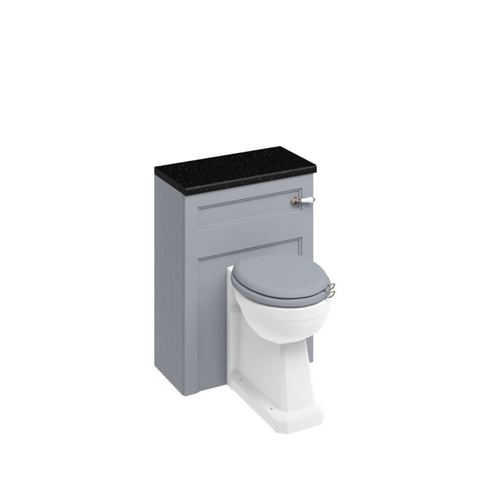 BB Edwardian 60cm base unit with regal back-to-wall pan including cistern fittings W60-P15