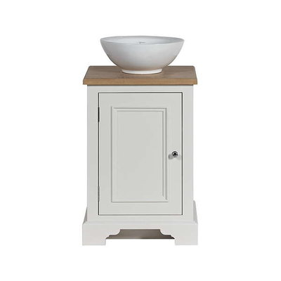 Wooden basin stand with door Chichester 500
