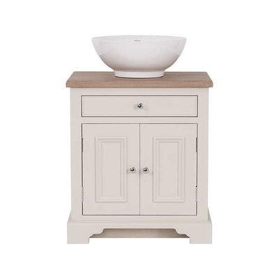 Waschtischschrank Massivholz Chichester 640