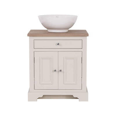 Wooden basin stand with door Chichester 640