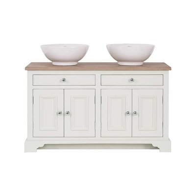 Wooden basin stand with door Chichester 1240