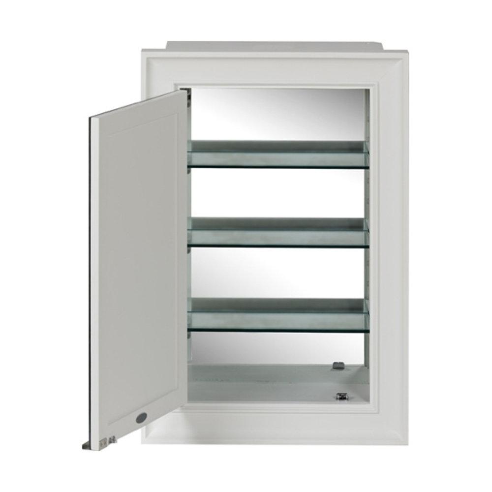Neptune Jarrow wall mounted mirror cabinet
