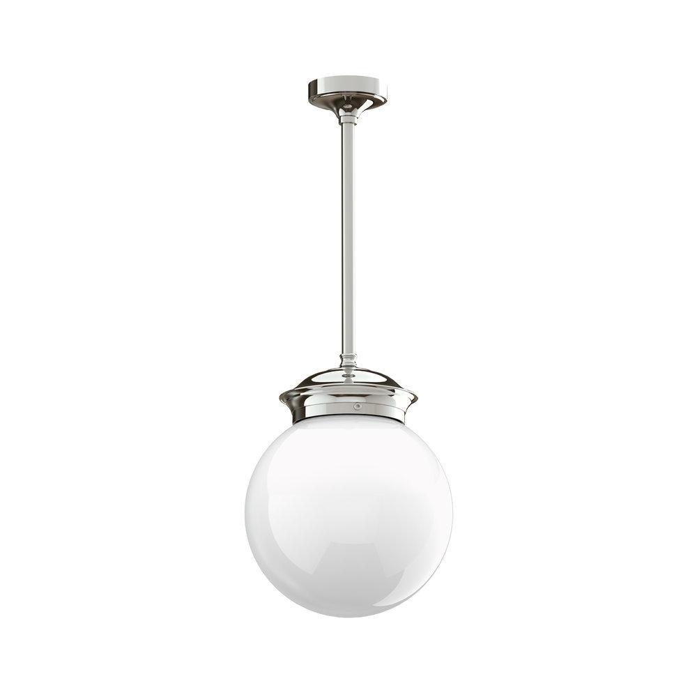 "Lefroy Brooks 1900 Classic Lefroy Brooks Classic hang-plafondlamp 8"" LB-4006"