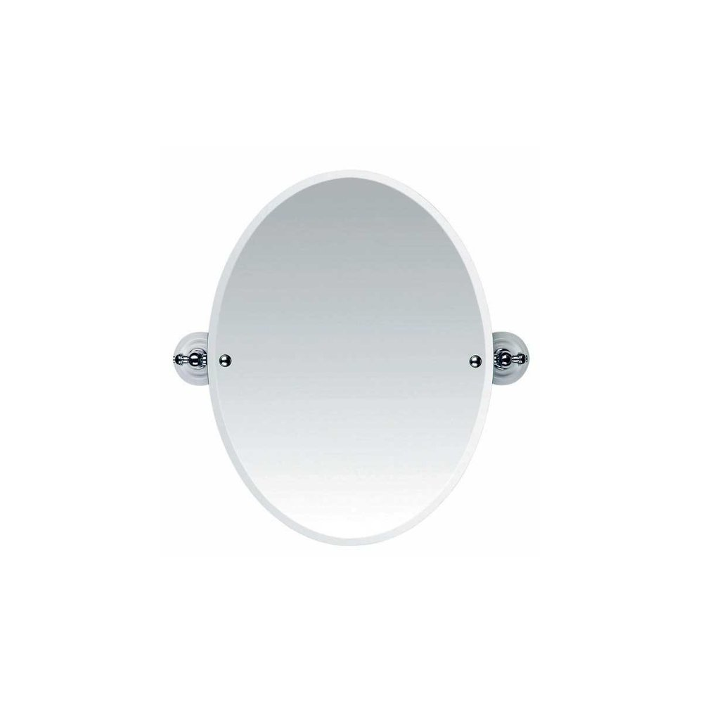 Imperial Imperial Oval Mirror Cambridge white