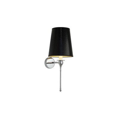 Imperial wandlamp Black Leather