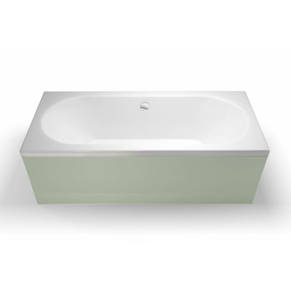 Clearwater Cleargreen Verde built in bath 170x70