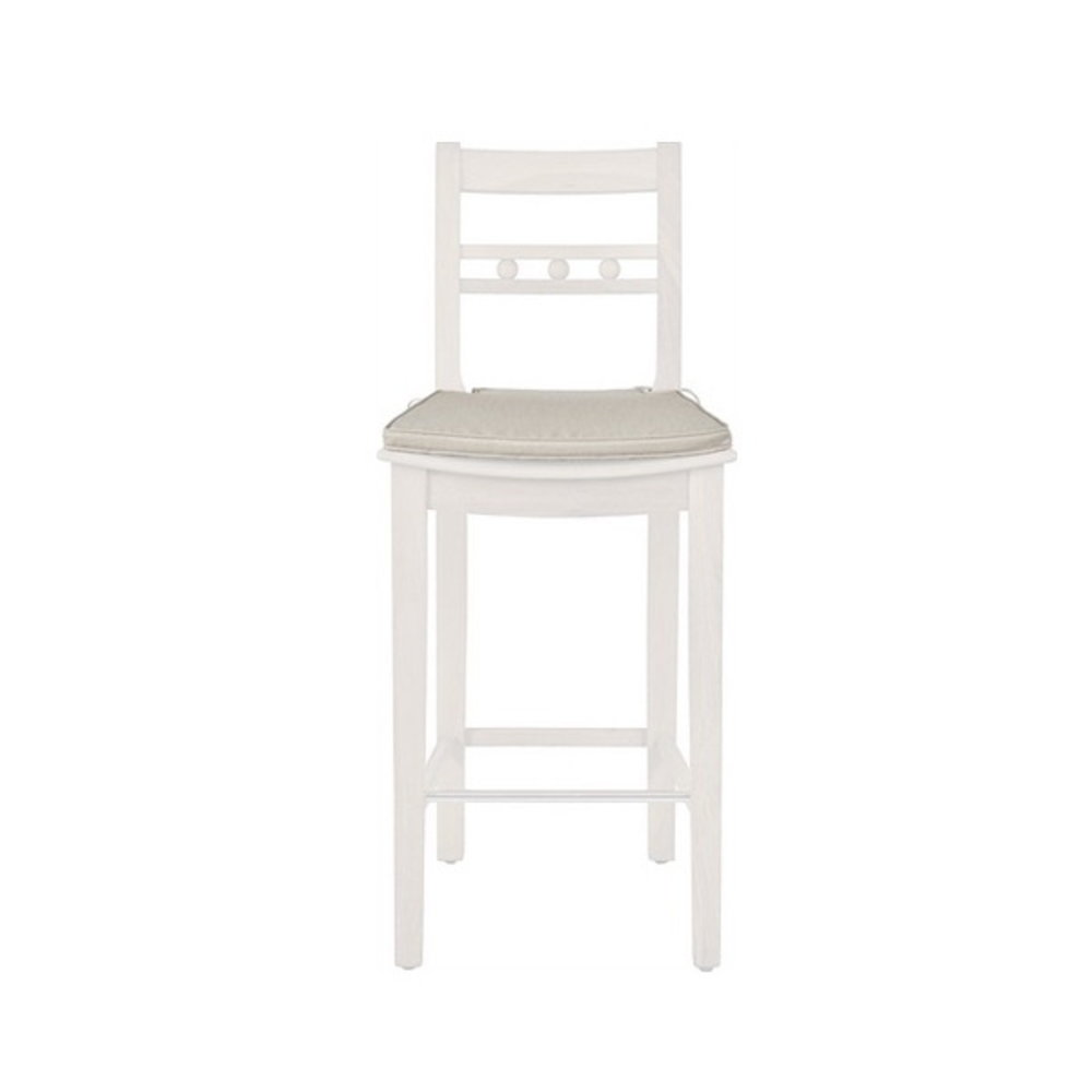 Neptune Neptune Suffolk Bar stool linen cushion