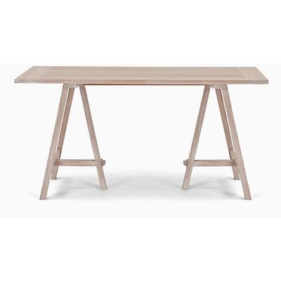 Hebden trestle table (Oak & Oak)