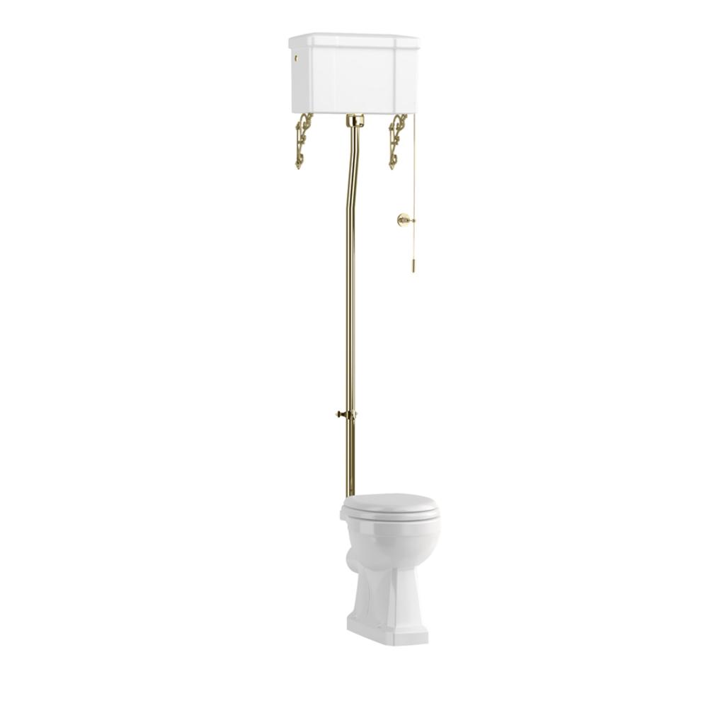 BB Edwardian Hooghang toilet (PK) met porseleinen reservoir
