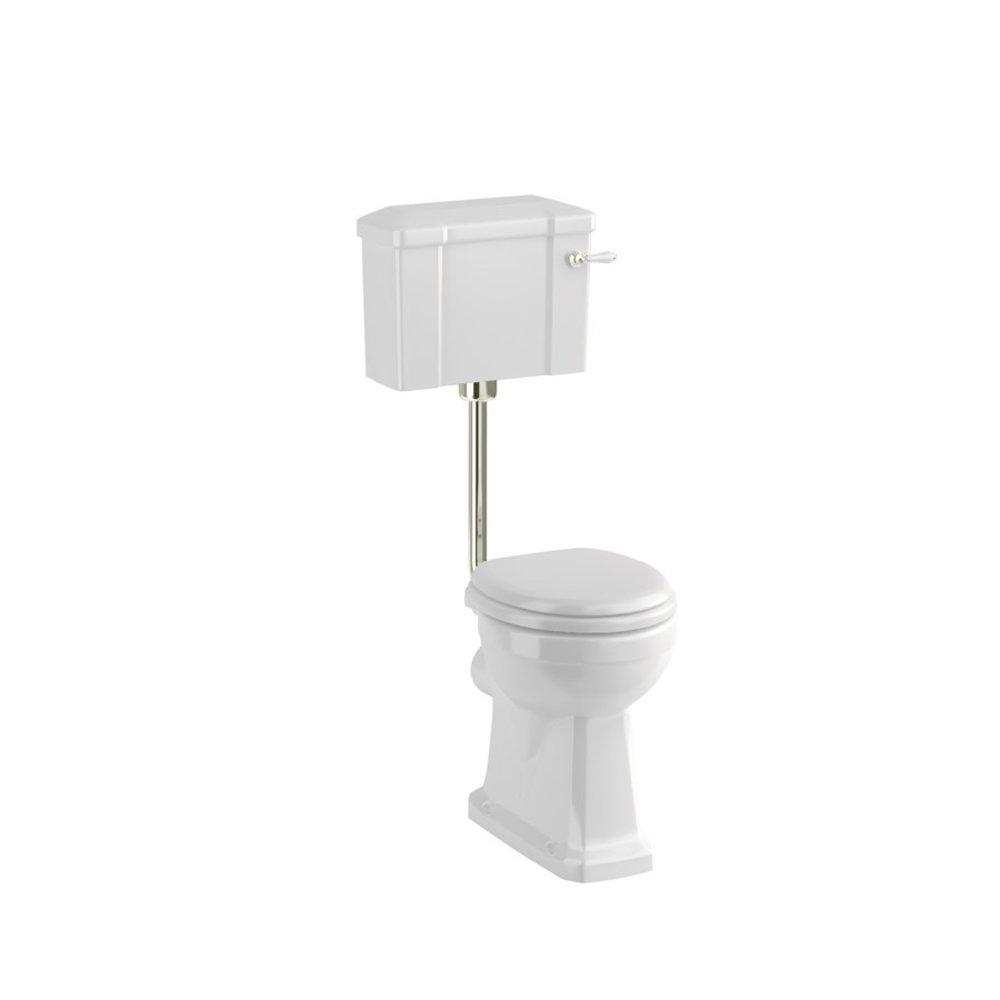 BB Edwardian Low level toilet (p-trap) with porcelain cistern