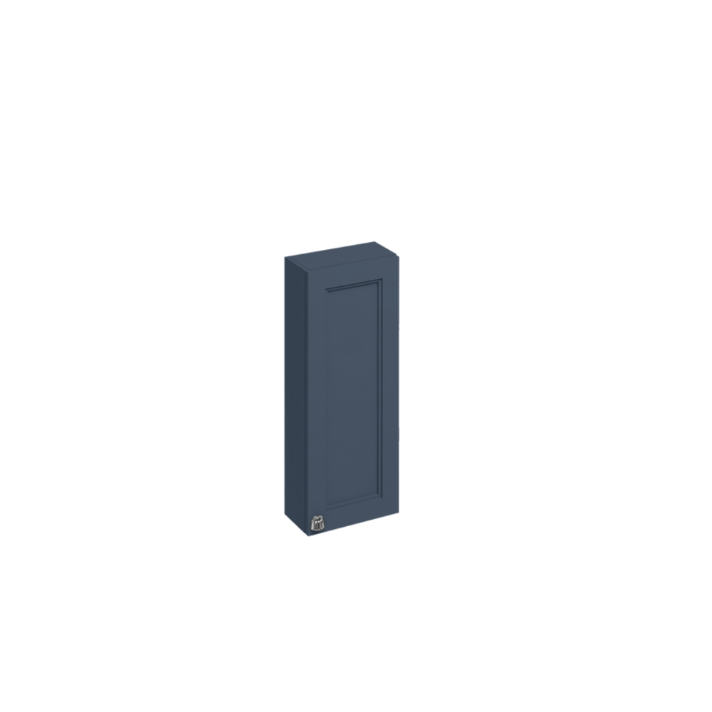 BB Edwardian 30cm wall unit with soft close door and glass shelf F3W