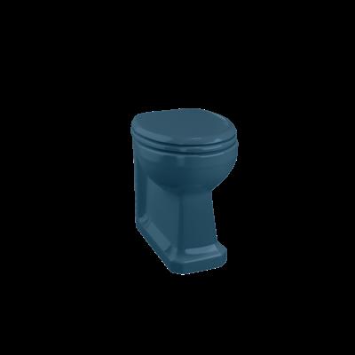 Wand-WC Standmontage - Alaska Blue