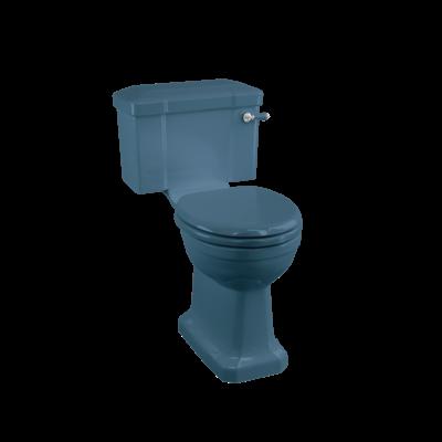 Duoblok toilet met reservoir - Alaska Blue