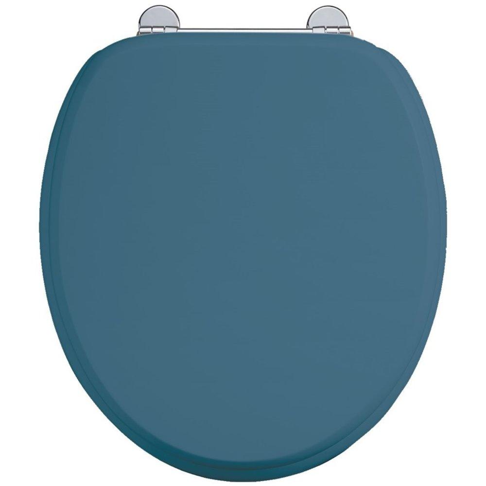 BB Edwardian Bespoke Soft close Alaska Blue toilet seat